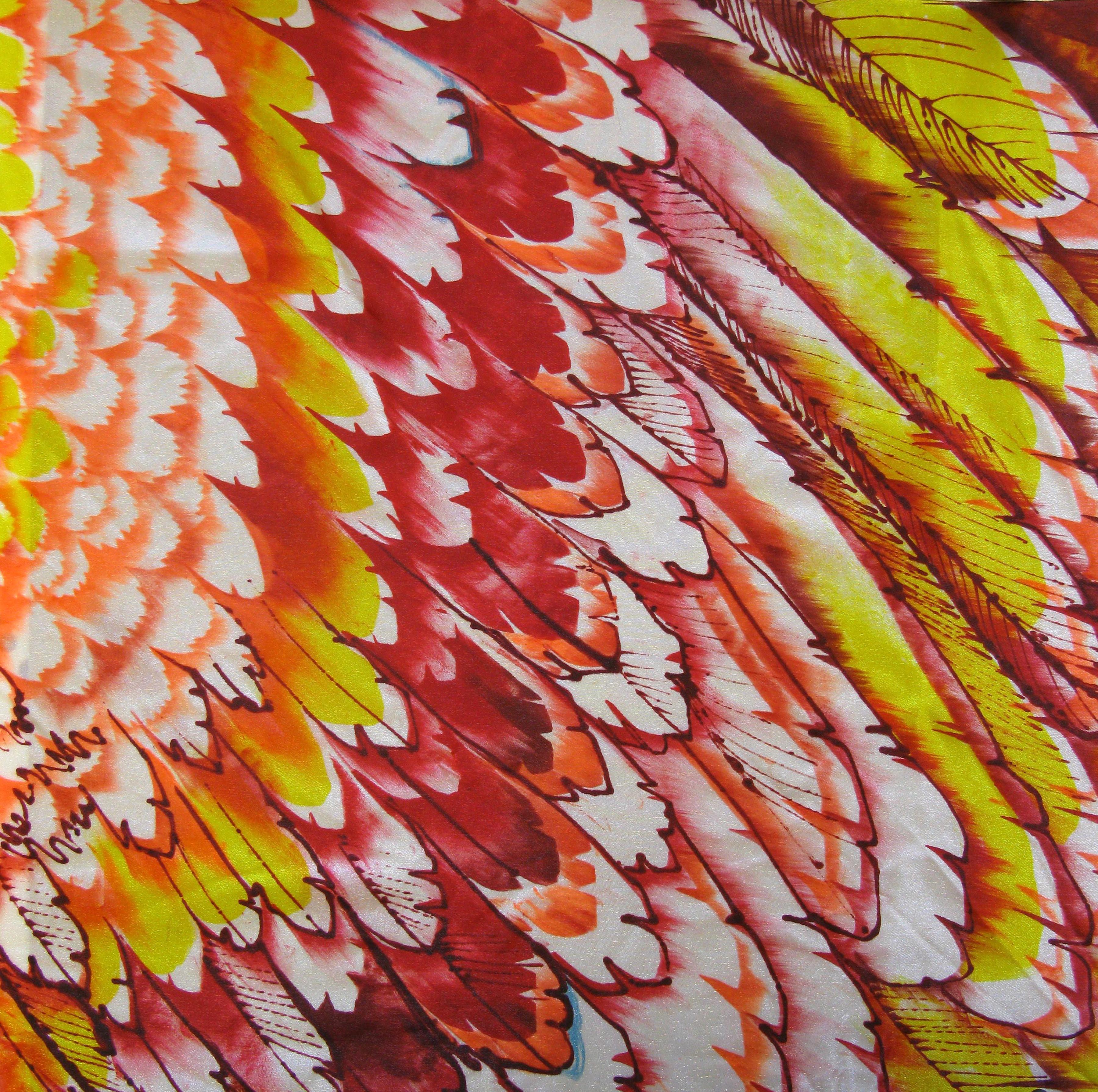MP mermaid bird wing red copy
