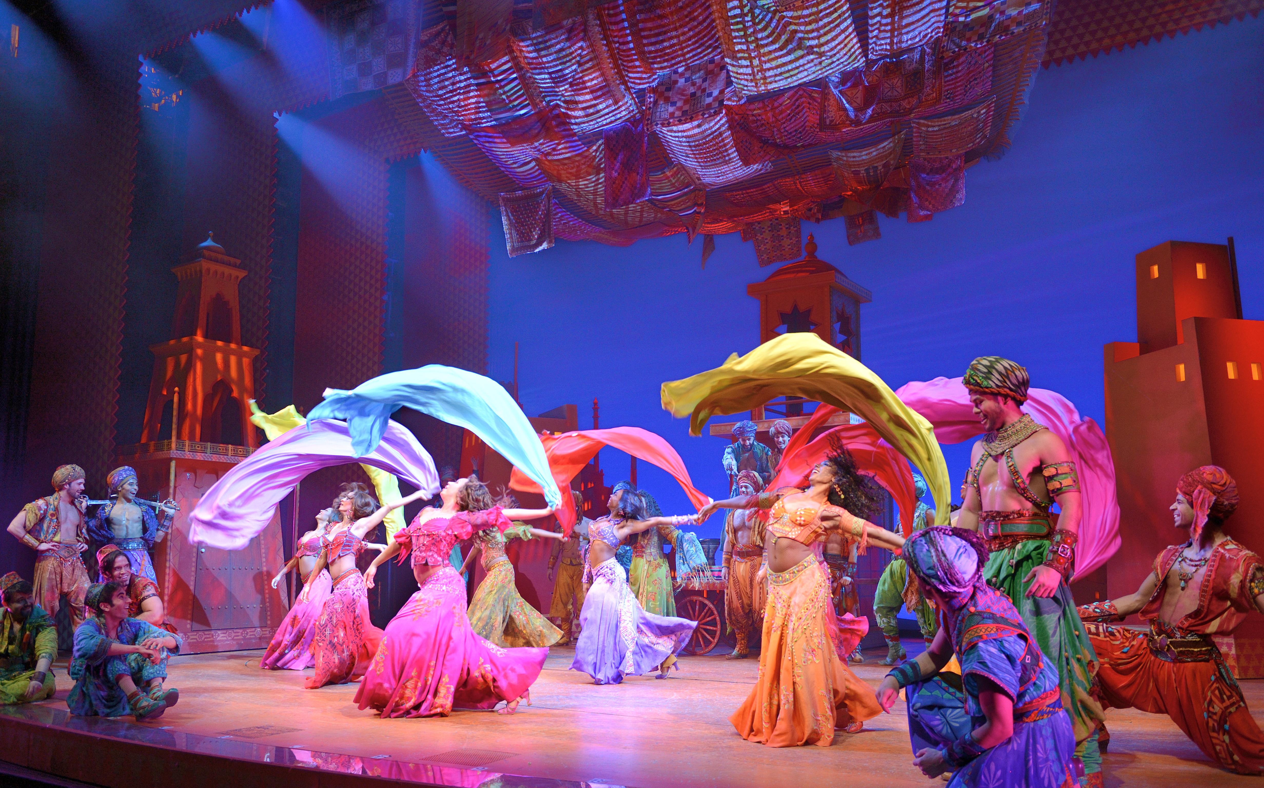 Aladdin - Original Broadway Company