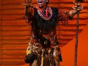 The Lion King - Tsidi Manye as Rafiki