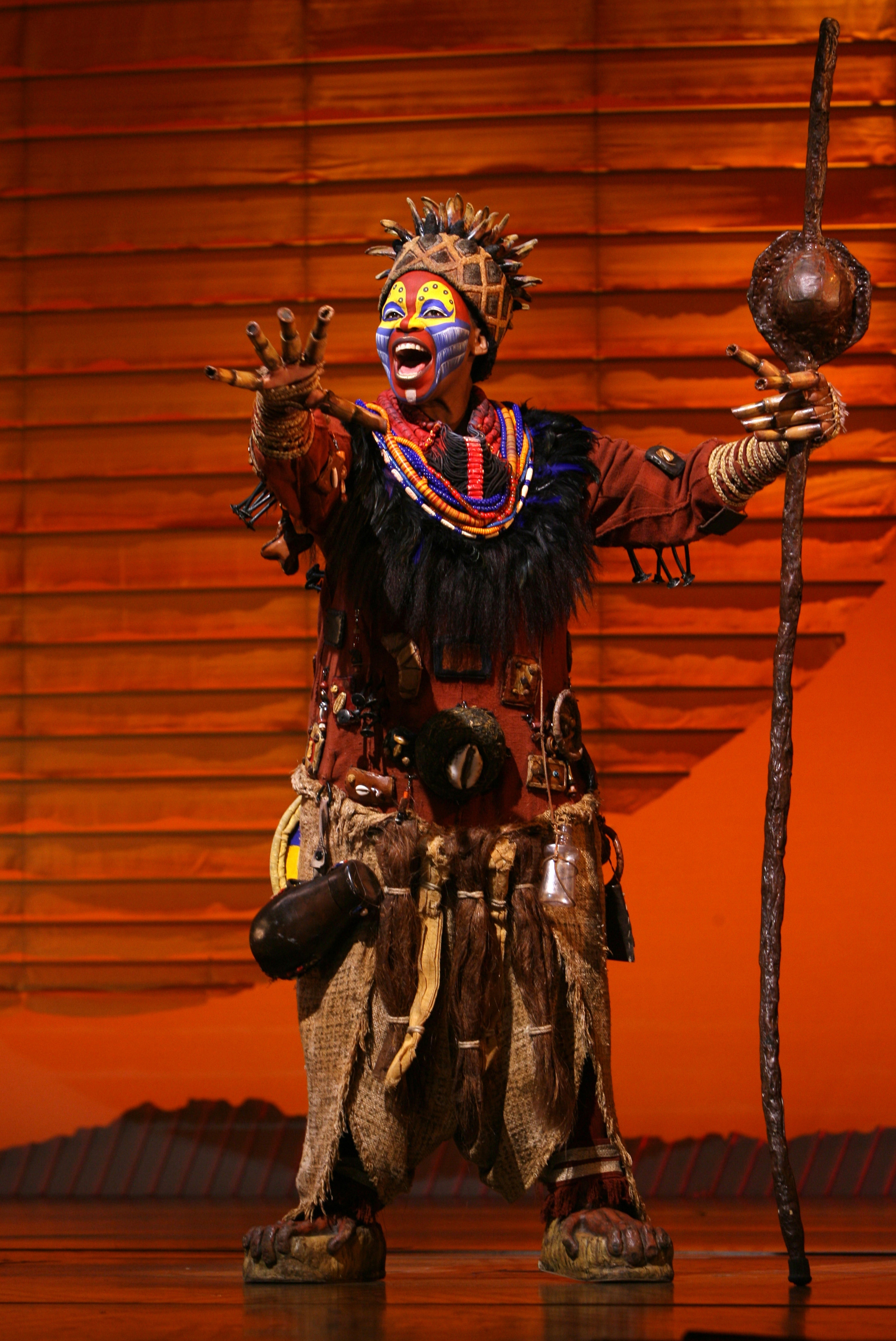 The Lion King - Tsidi Manye as Rafiki